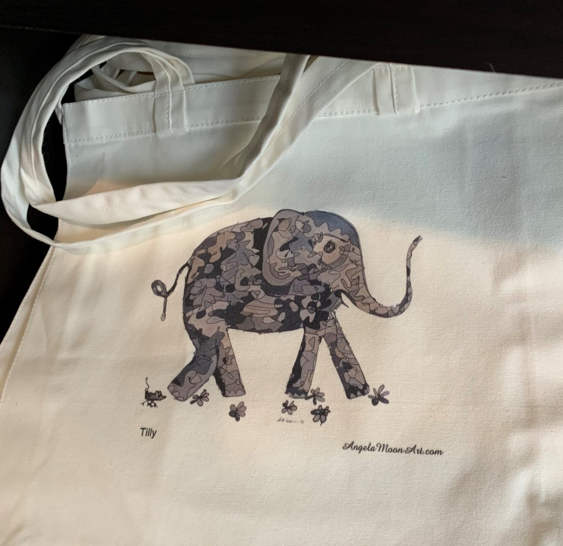 Tote Bag - Tilly the Elephant